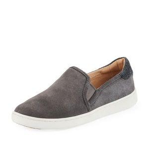 UGG Suede Slip-On Sneakers